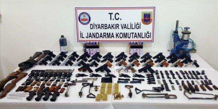 Diyarbakır'da silah kaçakçılığı operasyonu: 5 gözaltı