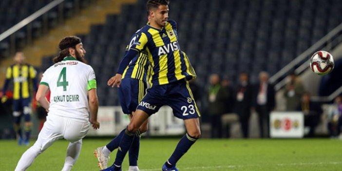Fenerbahçe, avantajı tek golle yakaladı