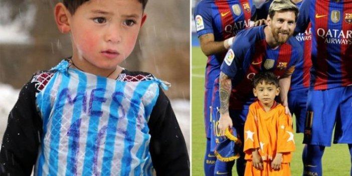 Poşetten Messi forması yapan çocuktan kötü haber geldi