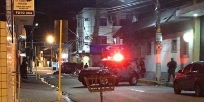Brezilya'da banka soygunu girişimi:11 ölü