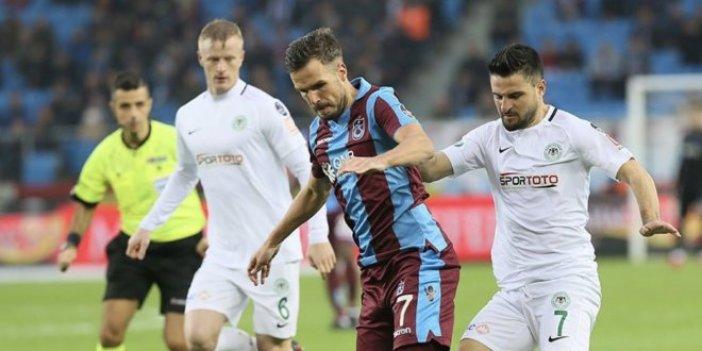 Konyaspor'dan penaltı kararına sert tepki