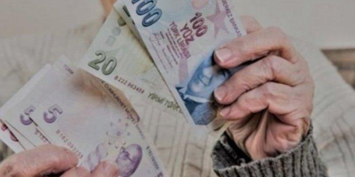 Emekli maaşı bin liranın altında olanlara zam yok!