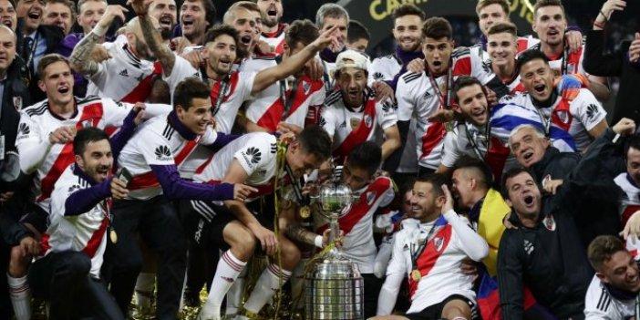 Libertadores Kupası'nı River Plate kazandı