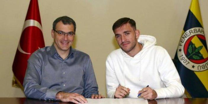 Fenerbahçe genç oyuncu ile sözleşme imzaladı