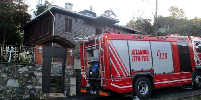 Beykoz'da duman yükselen eve giren itfaiye bir kişinin cesediyle karşılaştı