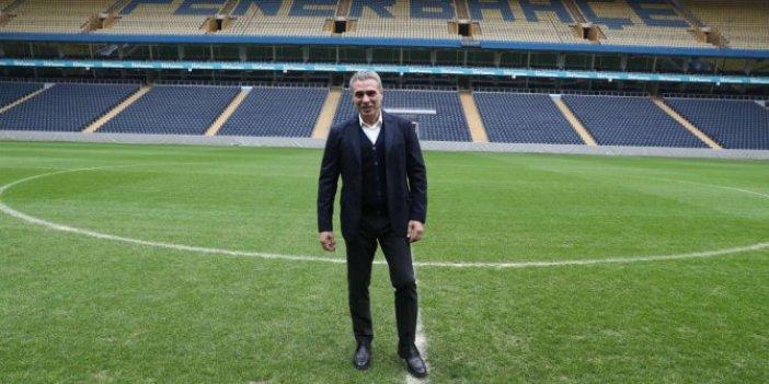 Ersun Yanal Ülker Stadı'nı gezdi