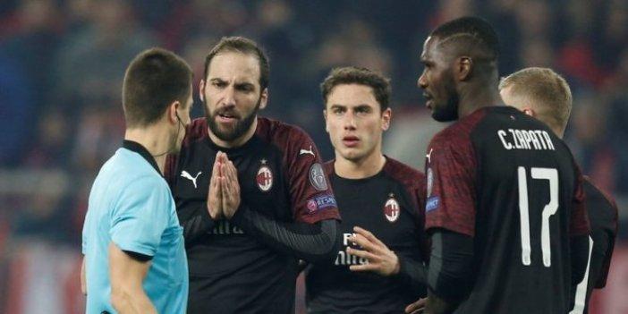 UEFA'dan Milan'a kötü haber!