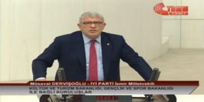 """Dervişoğlu: """"Siz laflarınızı milliyetçiliği ayaklar altına alanlara yetiştirin"""""""