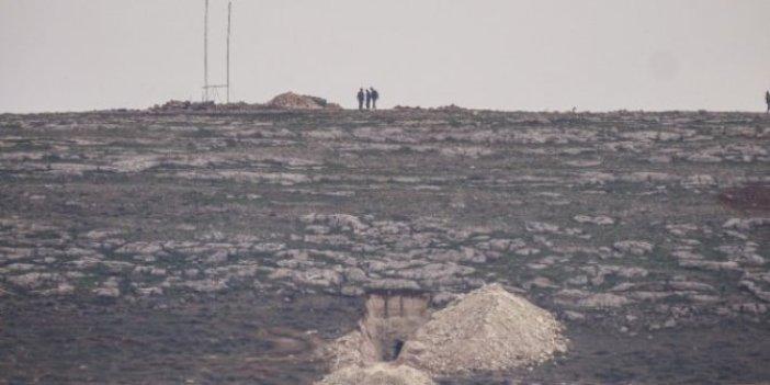 ABD'den YPG'li hainlere hendek nöbeti