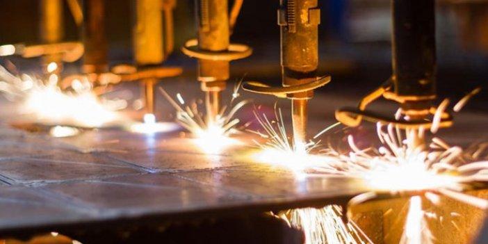 Sanayi üretimi yüzde 5,7 azaldı