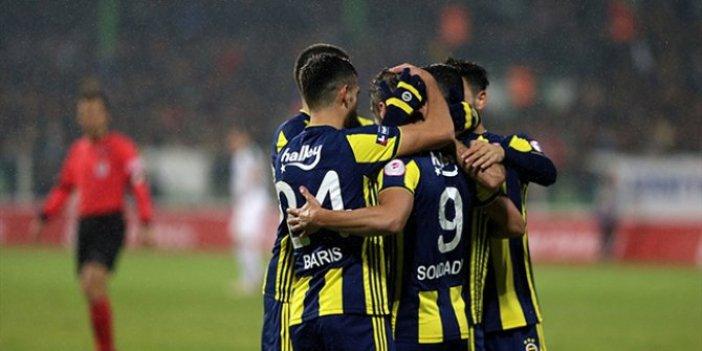 Fenerbahçe, kupada farklı turladı