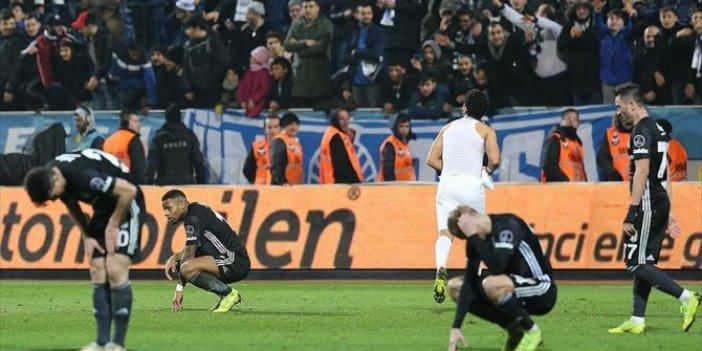 Beşiktaş'ta önlenemeyen düşüş sürüyor