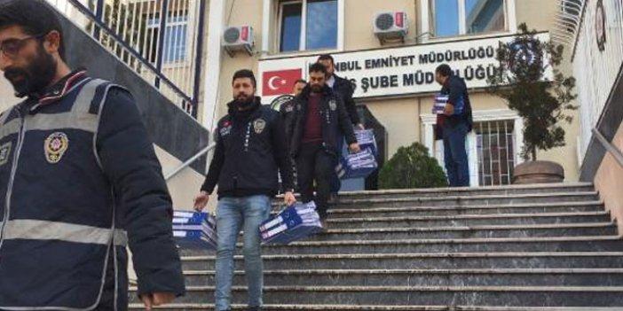İstanbul'da 5 milyon liralık vurgun yapan çete çökertildi