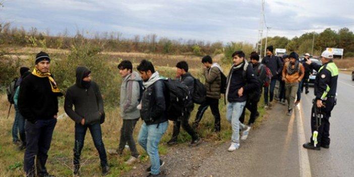 Artvin'de 30 düzensiz göçmen yakalandı