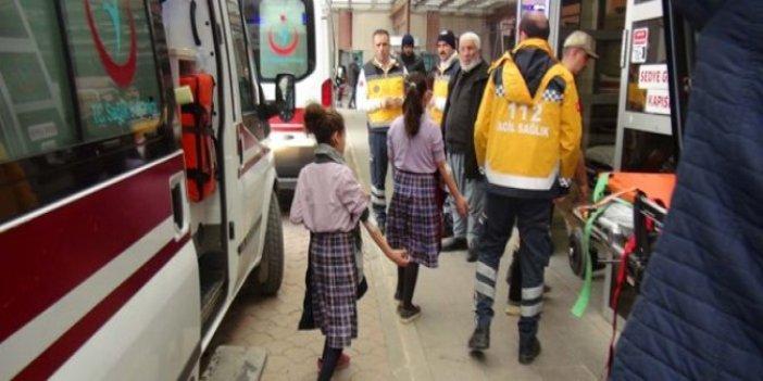 Kilis'te 15 öğrenci deney sırasında zehirlendi!
