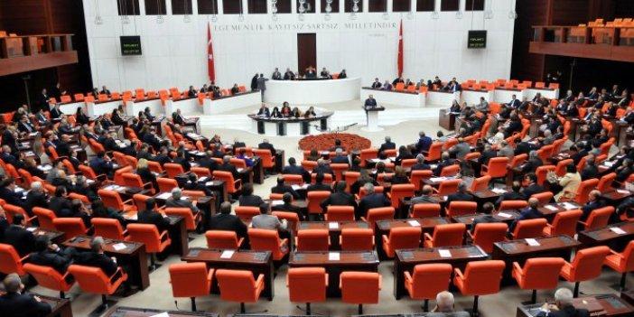 Meclis'te muhalefetin kanun teklifleri görüşülmüyor