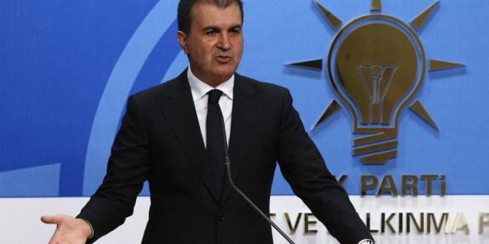 AKP Sözcüsü Ömer Çelik'ten Akpınar ve Gezen açıklaması