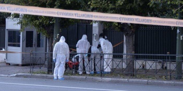Yunanistan'da bombalı saldırı!