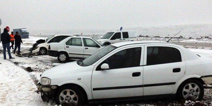 Siverek'te 7 araç birbirine girdi: 3 yaralı