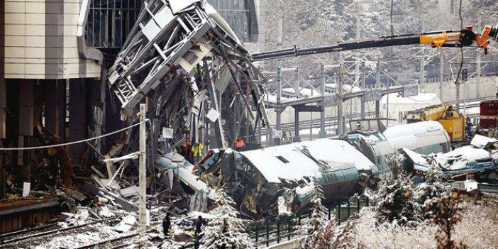 Ankara tren kazası sonrasında yeni karar