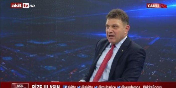 """Türker Ertürk: """"FETÖ kumpasının medya ayağı AKİT TV'dir"""""""