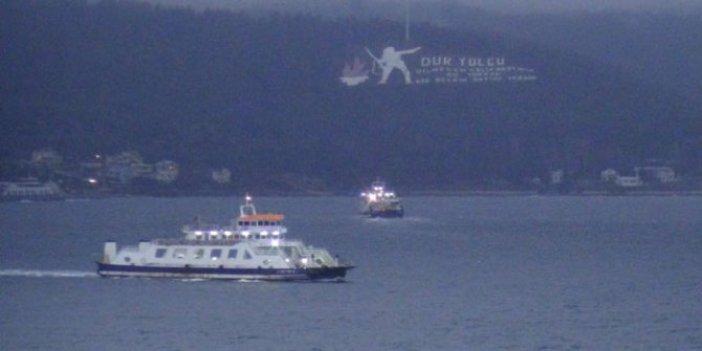 Gökçeada feribot seferleri iptal edildi!