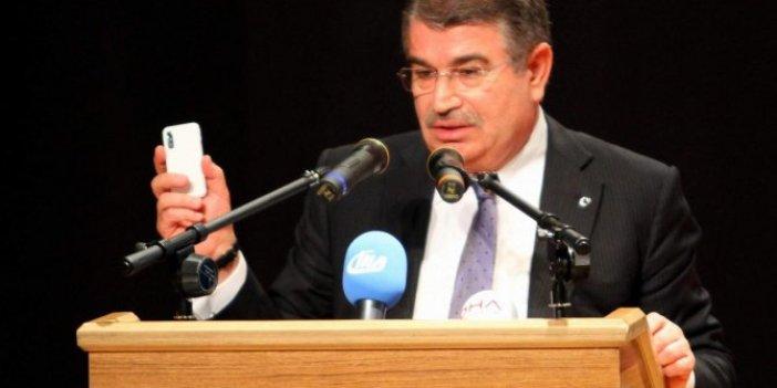 CHP'den İdris Naim Şahin açıklaması