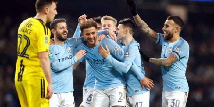 Manchester City'den tarihi fark!