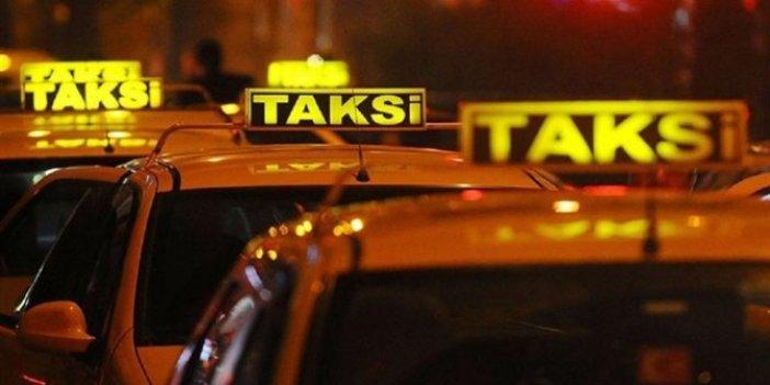 Taksicilere ceza yağdı!