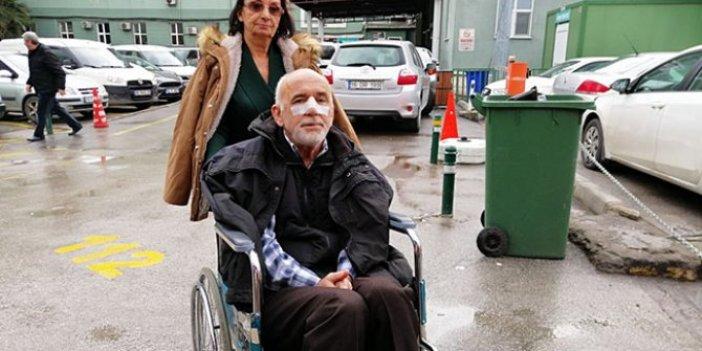 Özel halk otobüsü şoförü, yaşlı kadına tokat attı, eşinin burnunu kırdı