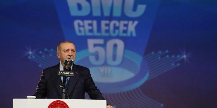 Cumhurbaşkanı Erdoğan'dan Tank-Palet Fabrikası açıklaması