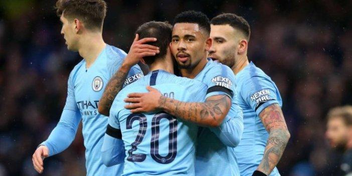 Manchester City zorlanmadan kazandı