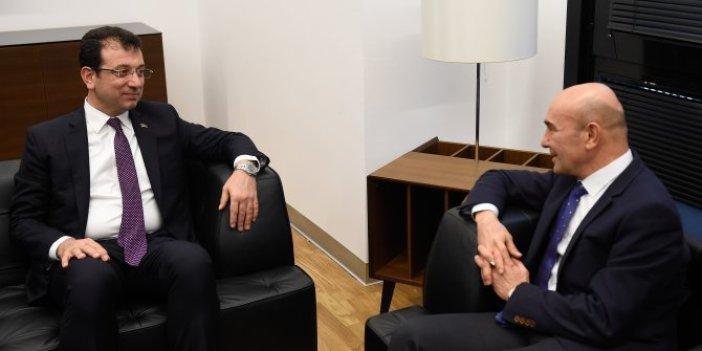Tunç Soyer'den Ekrem İmamoğlu'na destek ziyareti