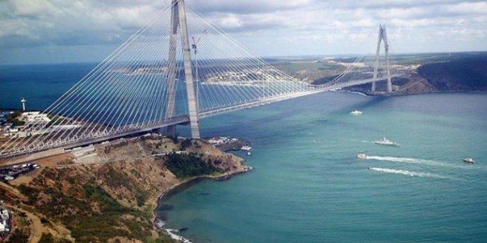 Yavuz Sultan Selim Köprüsü'nün satışı kura takıldı!
