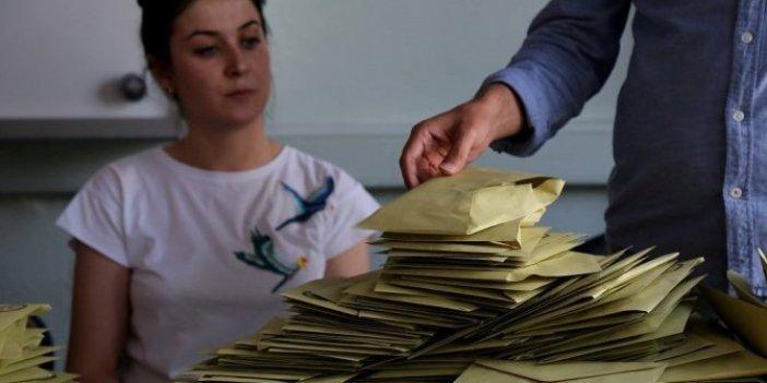 Yerel seçimde ilk kez tek zarf kullanılacak