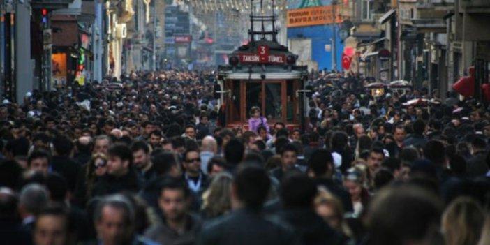 Türkiye'nin nüfusunda büyük artış!