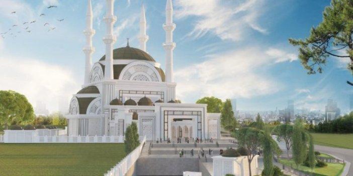 Ümraniye'deki cami inşaatına ödenek yetmedi:Cumhurbaşkanı Erdoğan fikir babasıydı