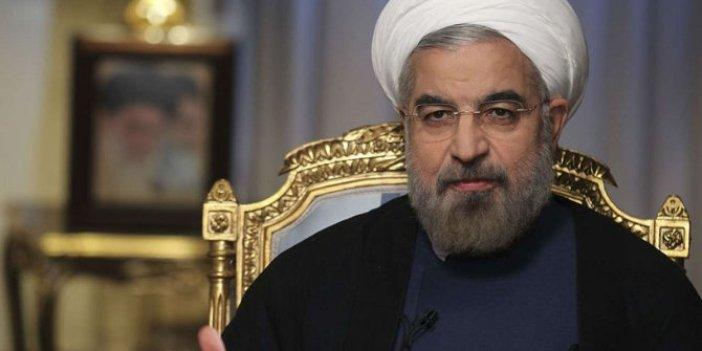 Ruhani'den ABD ile müzakere mesajı