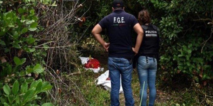 Meksika'da toplu mezar bulundu