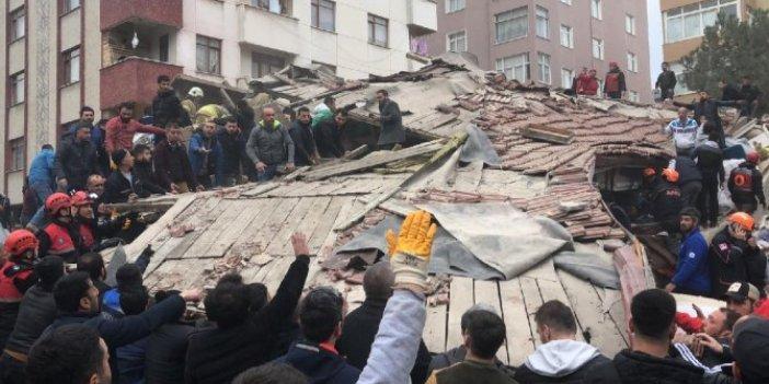Kartal'da yıkılan binadan sonra  Meclis'e o teklifi getirdiler