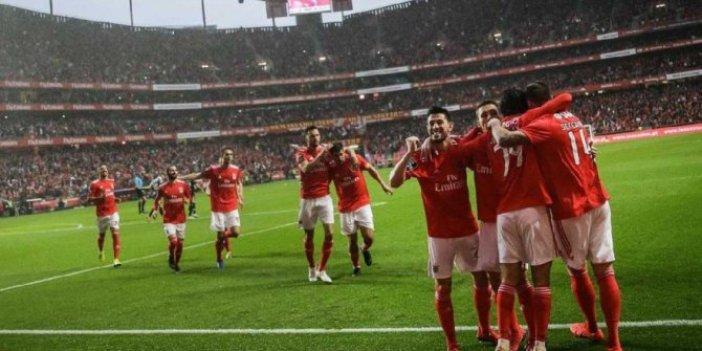Galatasaray'ın rakibi Benfica'dan 10 gollü galibiyet!