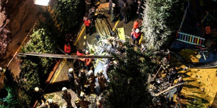 Askeri helikopter kazası hakkında yayın yasağı!