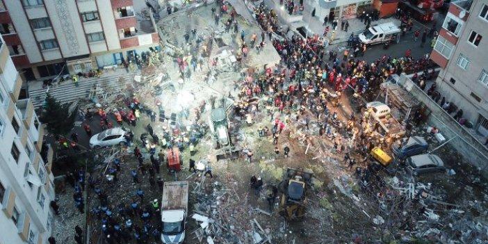 Kartal'da çöken bina hakkında çarpıcı bilirkişi raporu