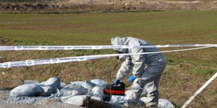 Büyükçekmece Gölü havzasına 60 çuval zehirli kimyasal bırakıldı