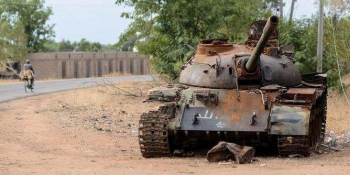 Haram ile Nijeryalı askerler çatıştı