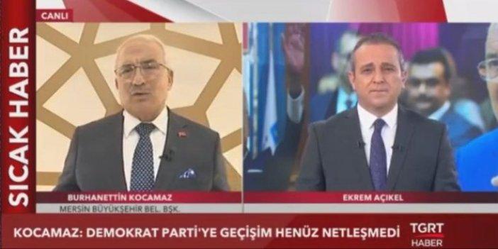 Burhanettin Kocamaz'dan Demokrat Parti açıklaması