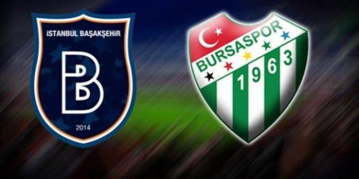 Başakşehir-Bursaspor maçına kar engeli