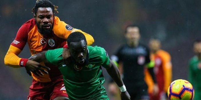 Galatasaray galibiyeti son anda kaptı!
