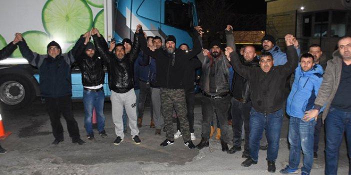 İdam cezasına çarptırılan Türk tır şoförü için eylem