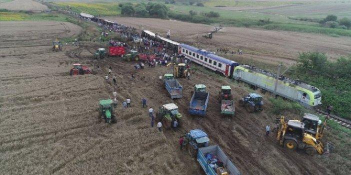 Çorlu'daki tren kazasında makinistlere takipsizlik